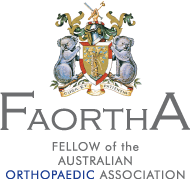 the Australian Orthopaedic Association (FAOrthA).