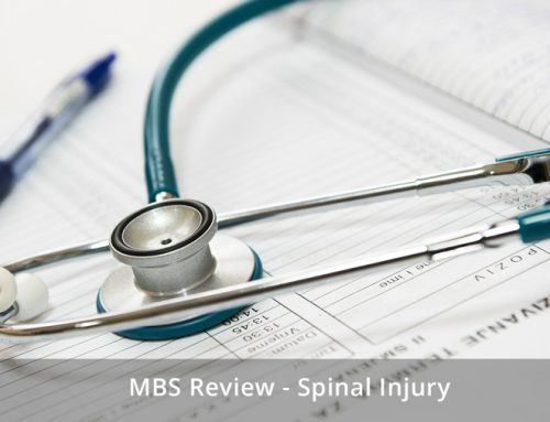 Spinal Surgery – Government Response to MBS Review Feedback