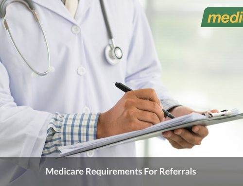Medicare requirements for referrals to specialists and consultant physicians