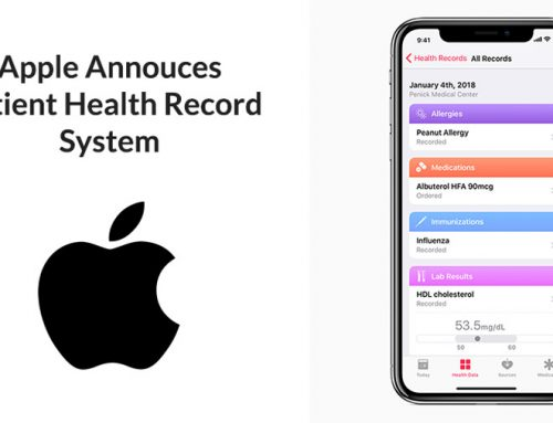Apple Announces Patient Health Record System