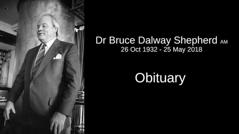 Dr Bruce Shepherd Obituary