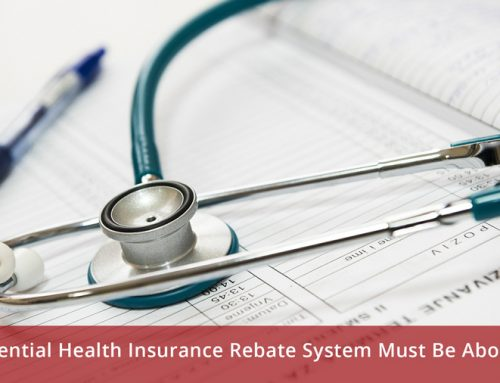 Differential Health Insurance Rebate System Must Be Abolished