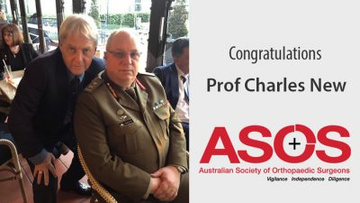 Prof Charles New and Stephen Milgate ASOS