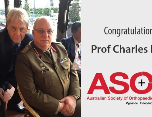 Congratulations to Prof Charles New OAM