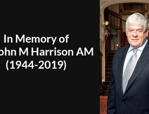 Dr John Harrison AM Funeral Arrangements
