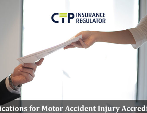 Applications for Motor Accident Injury Accreditation Scheme Medical Expert Peer Reviewers
