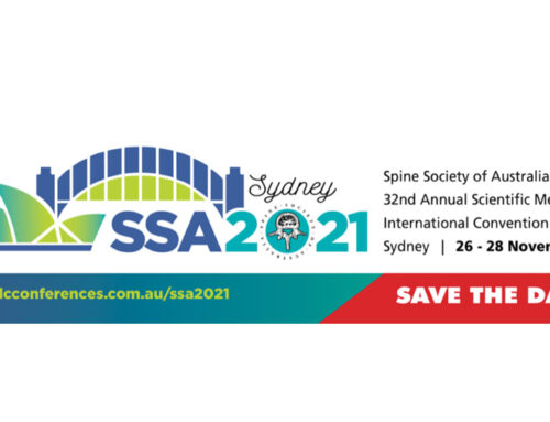 Postponement Of Spine Society Of Australia's 32nd Annual Scientific Meeting