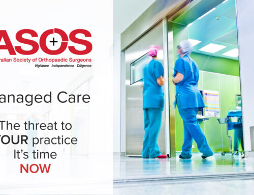 Managed Care – The threat to YOUR practice – It's time NOW